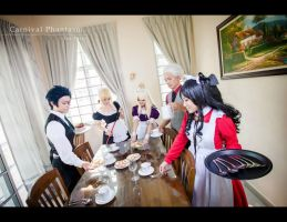Carnival Phantasm: Tea Party by morganajara