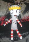 The pin cushion queen rag doll by ScorpionsKissx