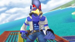 Fly Gamer Falco by BlueBlurBlade