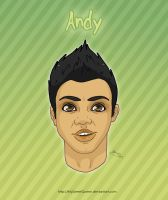 Andy Portrait by MySweetQueen