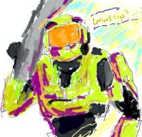Master Chief Grove by sudorlais