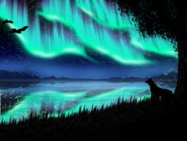 Under the Aurora: LH94 Journal by IceDragonhawk