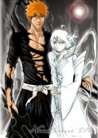 IchiRuki New Bankai by noodlemie