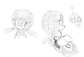 Tikal doodles by hayleigh