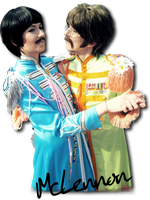 Beatles Cosplay - We ship McLennon! :D by Hikarulein