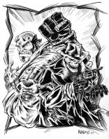 Hellboy and Guest by Renzo1991
