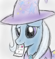 A sketch for Dr_Trixie by manfartwish