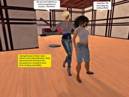 Molly and Gina in Second Life 3 by MollyFootman