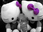 Hello Kitty ... Kitties by k-rose-l