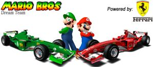 Mario Bros Formula 1 Team by Silvestre1988