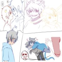 Homestuck Sketches by Naaruuchan