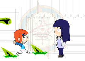 Chibi Chain - Alien Attack - Run by Dragon-FangX