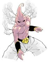 Majin Boo by BattlePeach