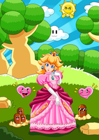 Princess Peach by ZeKKe87