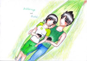 Buttercup and Butch: Our Time by kuraikitsune13