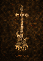 Skillet Cover - Typography by Numb5kull