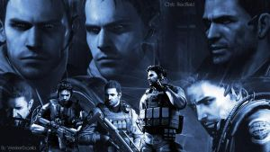 Chris Redfield by AlbertXExcellaLover