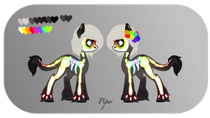 Piper -- Reference Sheet by acervine