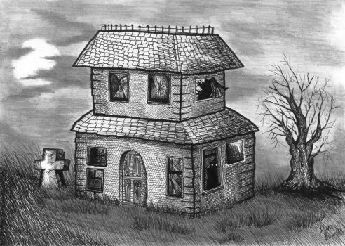 Spooky old house 2. by UrbanGerbils