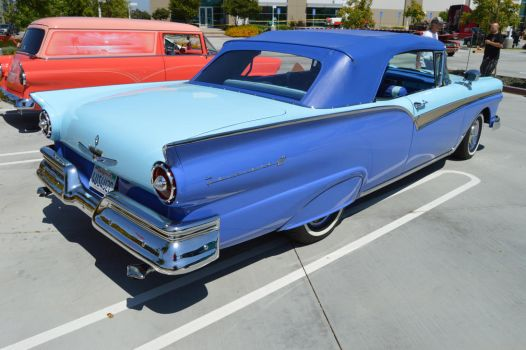 1957 Ford Fairlane 500 Convertible V by Brooklyn47
