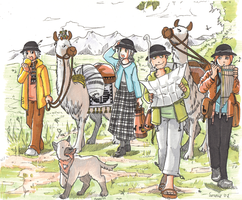 Reid's Expedition_in color xD by meago