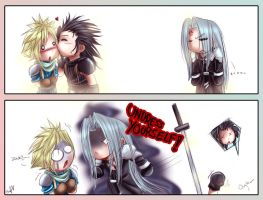FF7: Cute and..... by DarkLitria