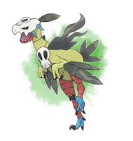 Fakemon - Grass Starter Final Evolutin by DevilDman