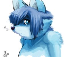 I'm so blue... by ByondRAGE