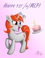 Reddit MLP's Birthday by imDRUNKonTEA
