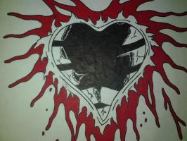 Torn Out Heart... by JohnnySuede