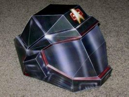 Star Trek Helmet Papercraft by Tektonten