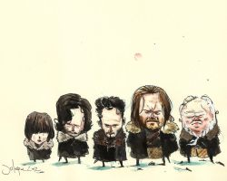 Game of Thrones people by julepe