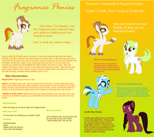 Main Fragrance Pony Reference Sheet by ItsAndromeda
