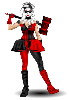 Baroque Harley Quinn by djuby