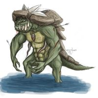 Gator Monster by megaluka