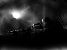 German sniper by Volcol
