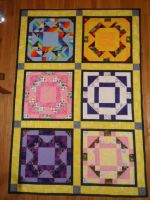 Mane Six Quilt by Waite92