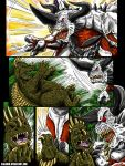 Attack On Monster Island Page 7, Commission by kaijukid
