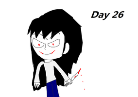31 days for Halloween Day 26 by iza200117