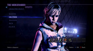 Heather Mason in Resident Evil 6 by RPGxplay