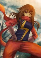 Kamala Khan by gin-1994