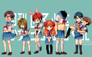 [GEKKAN SHOJO NOZAKI KUN] SAILOR UNIFORM by IMLazyCat