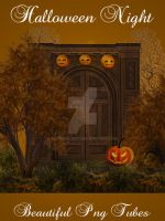 Halloween Night PNG pack by kayshalady