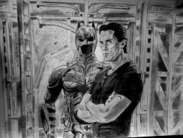 the dark knight rises by BhavikVyas