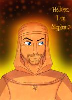Helloes, I am Stephano by WhiteFangKakashi300