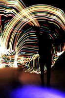 light painting by darkest-red