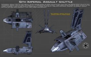 Sith Imperial Assault shuttle ortho [1][New] by unusualsuspex