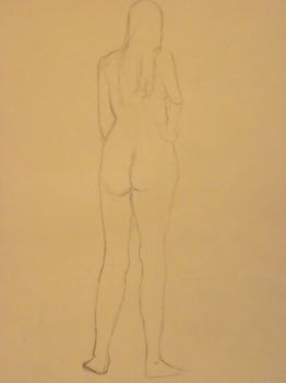 Nude Female Figure by Xxmade-in-japanxX