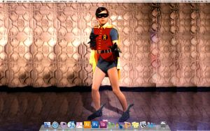 Burt Ward Wallpaper by mamalogon