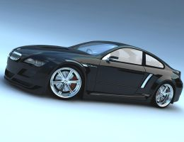 bmw black render by dwiirawan
